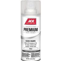 Универсальная прозрачный лак, аэрозоль АСЕ Premium Enamel.